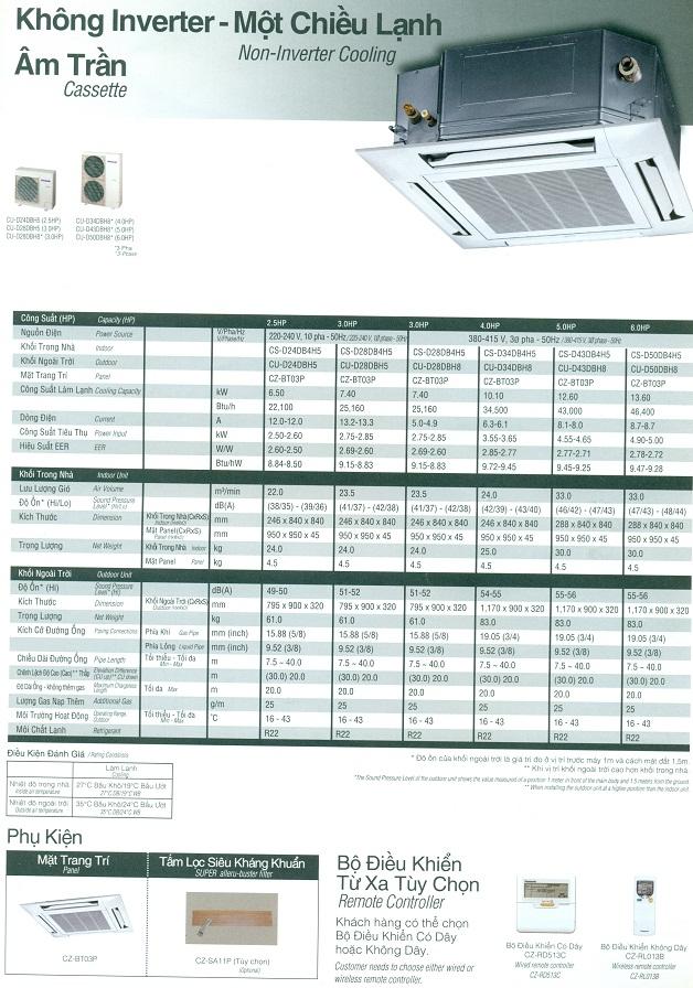 bán Máy lạnh âm trần Panasonic – May lanh am tran Panasonic công suất 4 ngựa giá sỉ,giá mới nhât