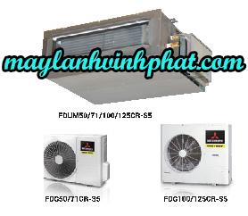 Sản phẩm mới nhất và rẻ nhất Máy lạnh giấu trần nối ống gió Mitsubishi Heavy FDUM50CR-S5/FDC50RC-S5