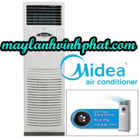 Chuyên thi công và lắp đặt giá rẻ toàn quốc Máy lạnh tủ đứng Midea – Máy lạnh Midea 5.5HP