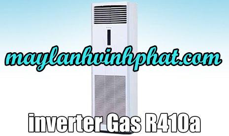 máy lạnh tủ đứng inverter gas R410