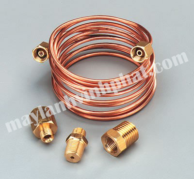ống đồng cuộn tròn