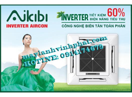 máy lạnh âm trần AIKIBI