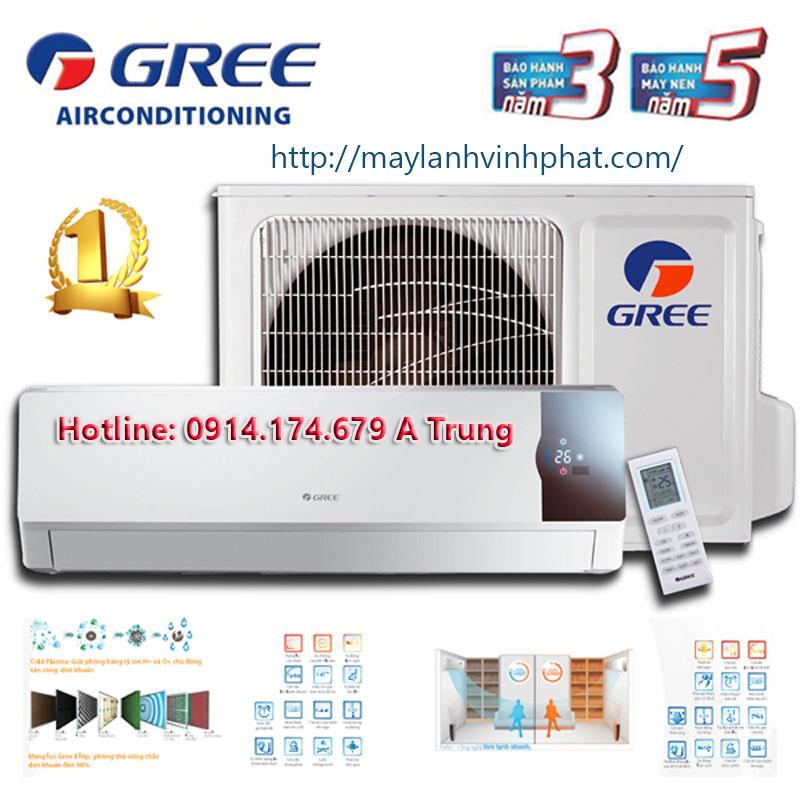 Máy lạnh treo tường GREE giá rẻ nhất