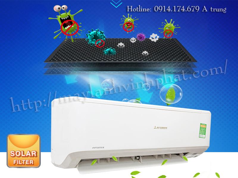 Máy lạnh treo tường MITSUBISHI HEAVY giá rẻ nhất