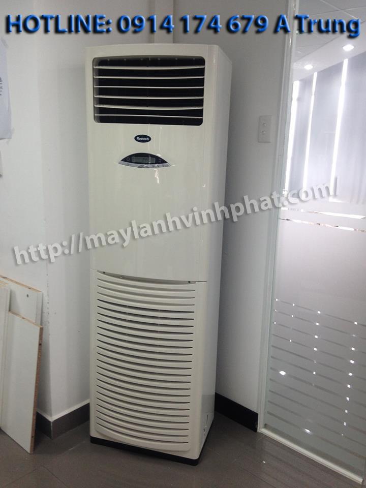 máy lạnh tủ đứng reetech