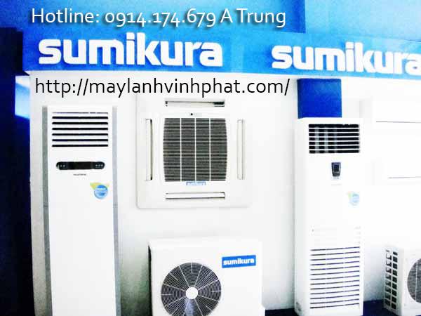 máy lạnh tủ đứng sumikura giá tốt