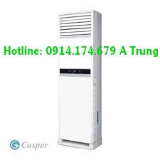 Thi công ống đồng âm tường Máy lạnh CASPER – Máy lạnh tủ đứng CASPER 5HP quận 9 giá rẻ