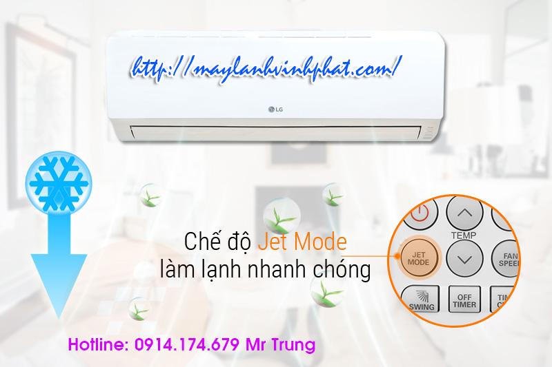 máy lạnh treo tường LG giá bình dân