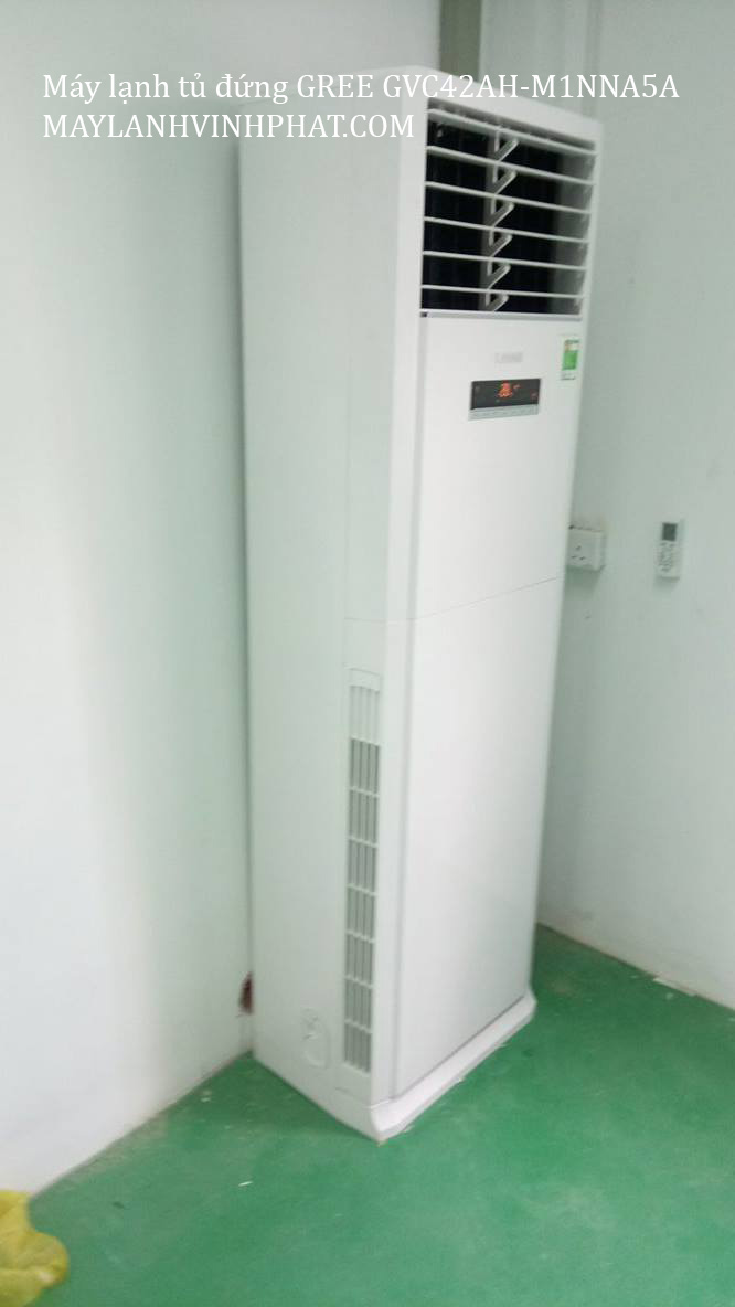 Lắp máy lạnh tủ đứng GREE 15