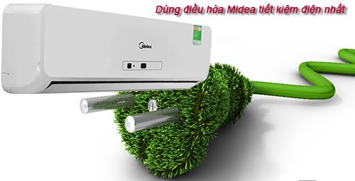 Máy lạnh treo tường MIDEA giá ưu đãi