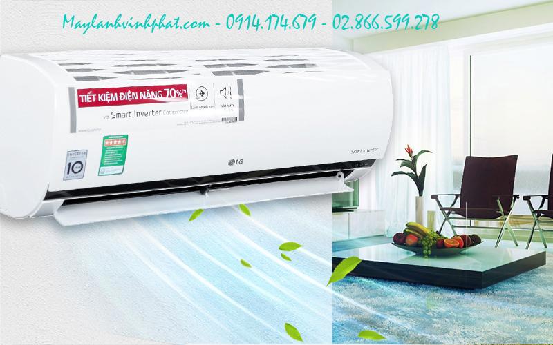 máy lạnh treo tường LG bền