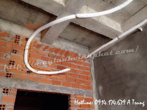 thi công ống đồng 115
