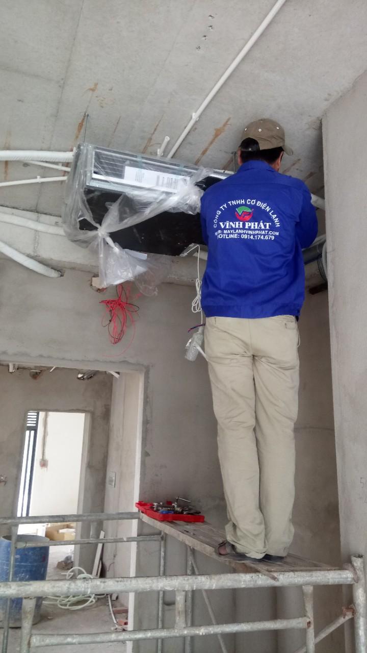Lắp máy lạnh giấu trần nối ống gió DAIKIN tại Lucasta - quận 9 (21)