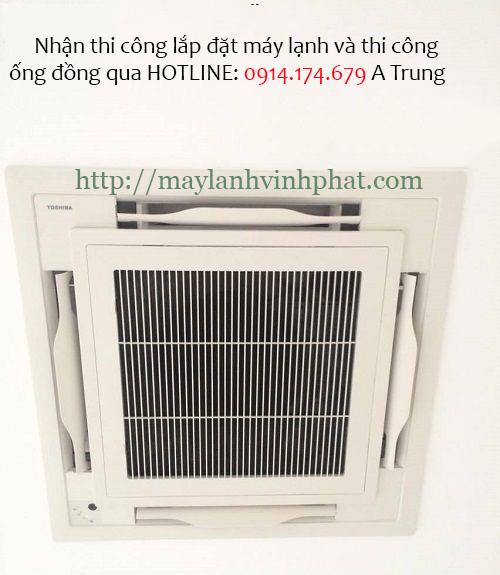 Bán máy lạnh âm trần TOSHIBA giá tốt + lắp đặt máy lạnh thẫm mỹ nhất - 284836