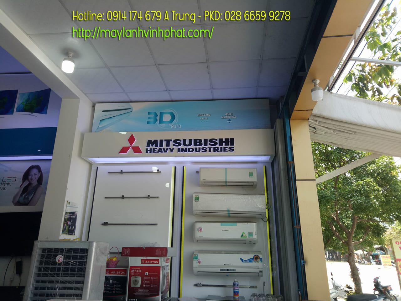 Máy lạnh treo tường MITSUBISHI HEAVY mềm nhất