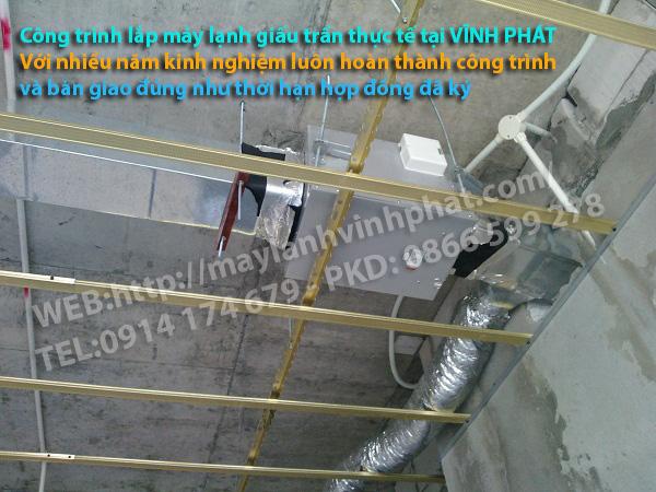 giấu trần nối ống gió 1