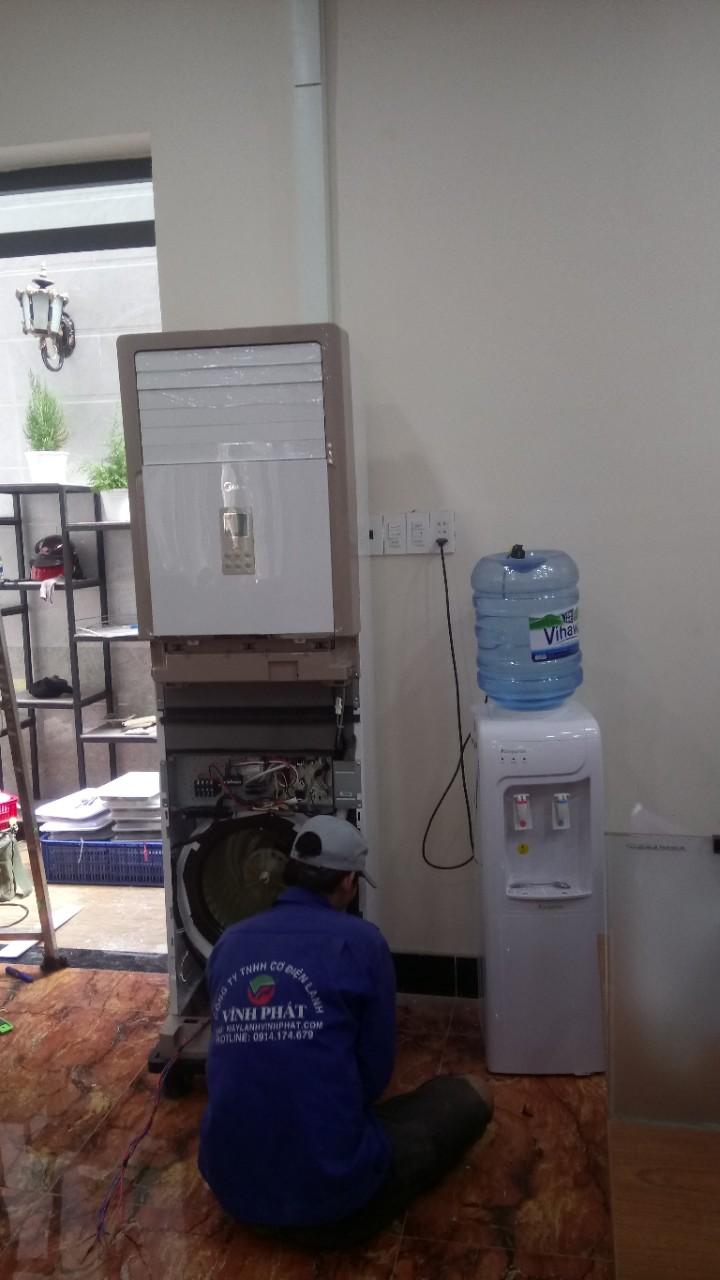 Lắp máy lạnh MIDEA tại Bộ tư pháp - Thủ Đức (13)