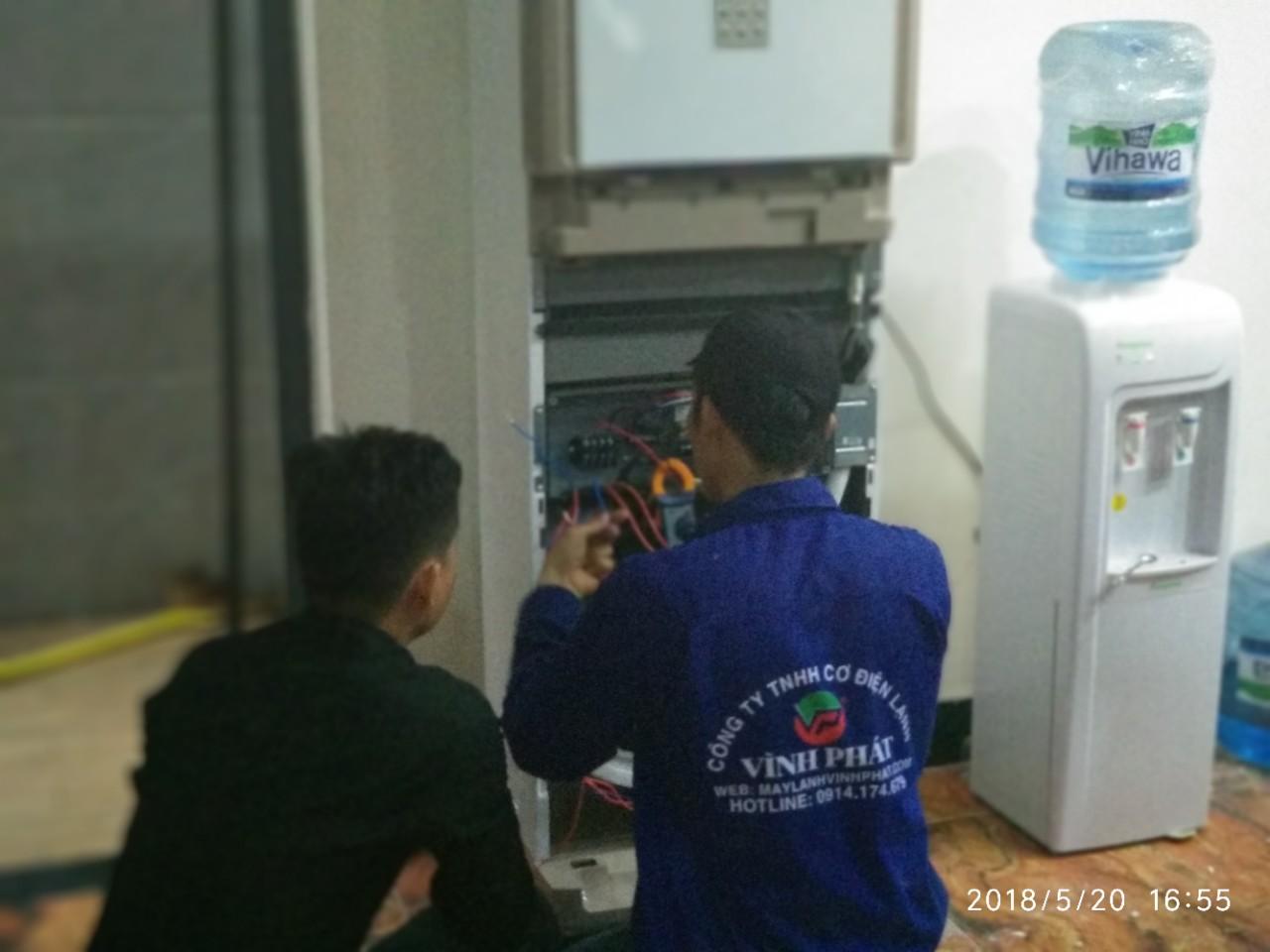 Lắp máy lạnh MIDEA tại Bộ tư pháp - Thủ Đức (3)