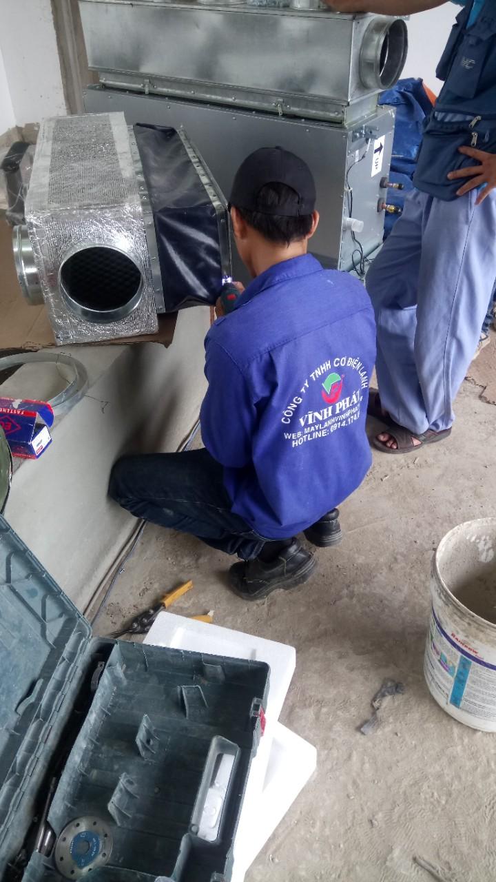 Lắp máy lạnh giấu trần nối ống gió DAIKIN tại Lucasta - quận 9 (52)