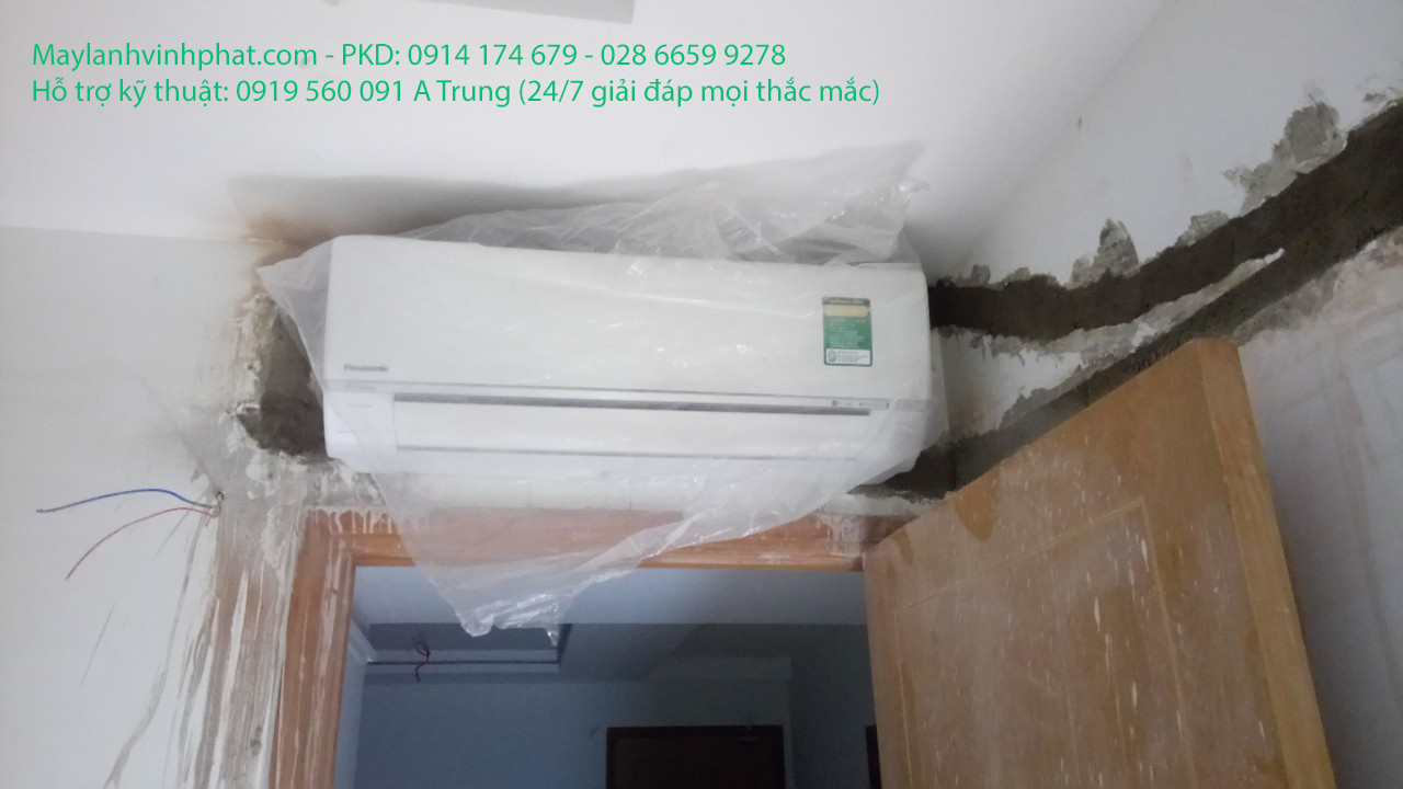 Lắp máy lạnh treo tường DAIKIN 3