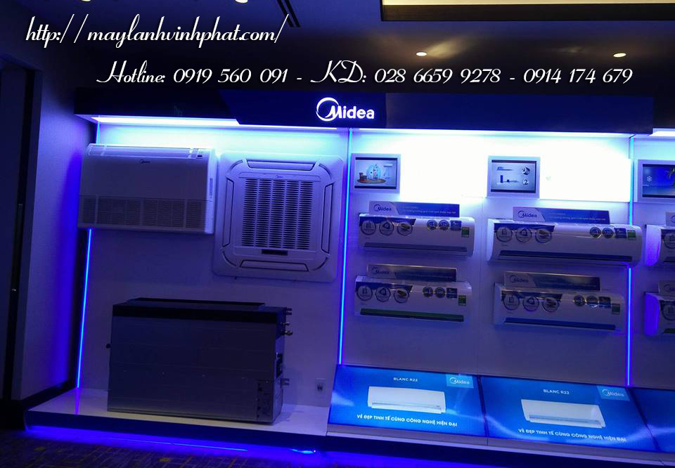 Máy lạnh âm trần MIDEA mới nhất