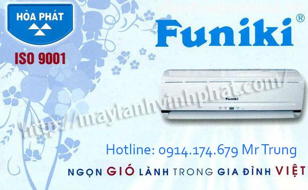 Trung tâm tại SG chuyên bán Máy lạnh treo tường FUNIKI – May lanh treo tuong FUNIKI giá gốc